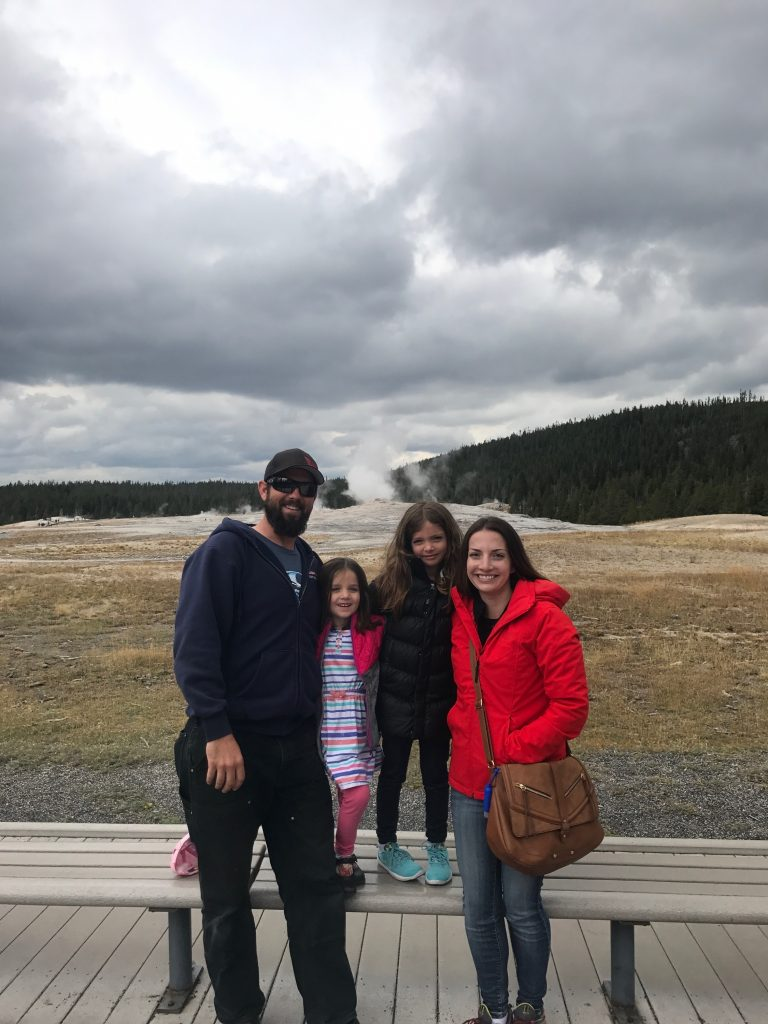 yellowstone trip with family