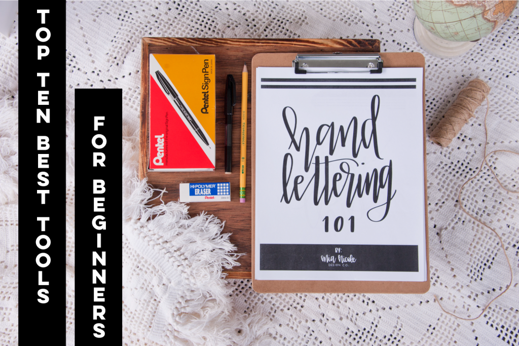 hand-lettering tools for beginners