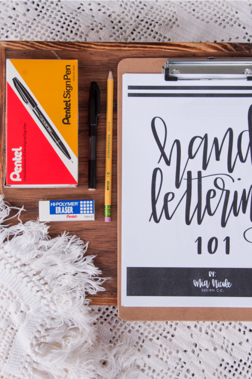 The Top 10 Hand-Lettering Supplies for Beginners